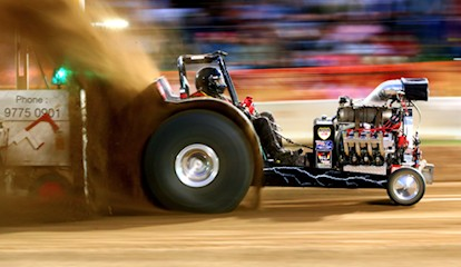 tractor pull custom wheels